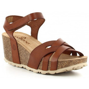Sapatos Mulher Sandálias Yokono MORA 006 cuero Marron