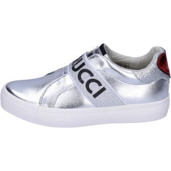 Sapatos Rapariga Slip on Fiorucci BH178 Prata