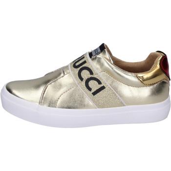 Sapatos Rapariga Slip on Fiorucci BH179 Ouro