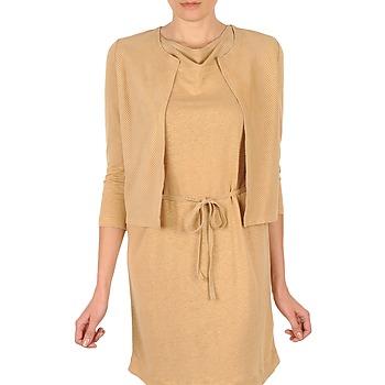 Textil Mulher Casacos de malha Majestic BERENICE Bege