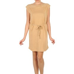 Textil Mulher Vestidos curtos Majestic CAMELIA Bege
