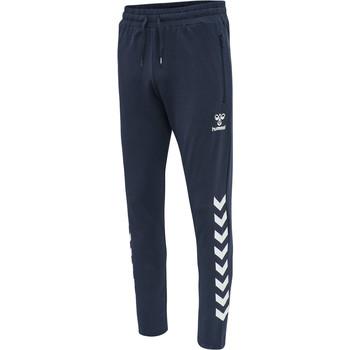Textil Homem Calças de treino Hummel Pantalon  hmlray 2.0 tapered bleu foncé