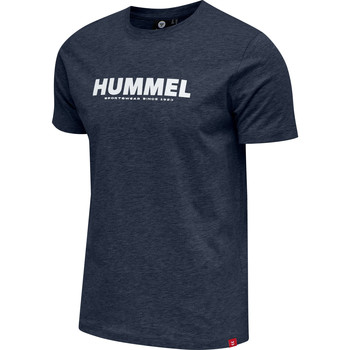 Textil Homem T-Shirt mangas curtas Hummel T-shirt  hmlLEGACY bleu foncé