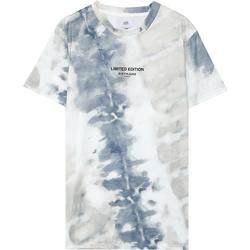 Textil Homem T-Shirt mangas curtas Sixth June T-shirt  tie dye beige