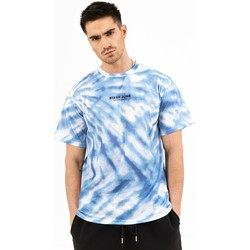 Textil Homem T-Shirt mangas curtas Sixth June T-shirt  tie dye bleu