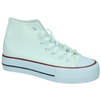 Sapatos Mulher Sapatilhas de cano-alto Demax  Branco