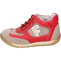 Sapatos Rapaz Sapatilhas Falcotto Sneakers BH195 Vermelho