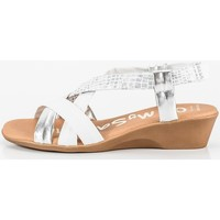 Sapatos Mulher Sandálias Ohmysandals 4823 blanc