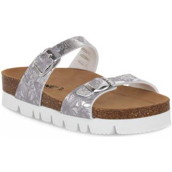 Sapatos Mulher Chinelos Bioline 9212 VELINA ARGENTO Grigio