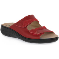 Sapatos Mulher Chinelos Emanuela 1242 ROSSO Rosso