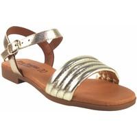 Sapatos Mulher Sandálias Eva Frutos Sandália senhora  r40 ouro Prata