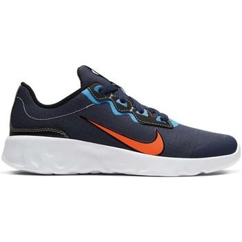 Sapatos Criança Sapatilhas Nike Explore Strada GS Azul marinho