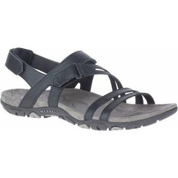 Sapatos Mulher Sandálias Merrell Sandspur Rose Convert Preto