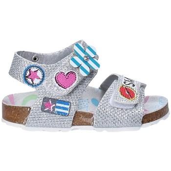 Sapatos Criança Sandálias Asso 56609 Cinzento