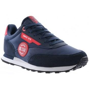Sapatos Homem Sapatilhas Big Star HH174252 Azul marinho