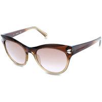 Relógios & jóias Mulher óculos de sol Swarovski - SK0171 Castanho