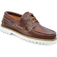 Sapatos Mulher Sapato de vela Seajure Alankuda Boat Shoe Castanho