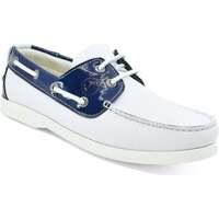 Sapatos Mulher Sapato de vela Seajure Ffryes Boat Shoe Azul Marinho e Branco