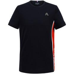 Textil Rapaz T-Shirt mangas curtas Le Coq Sportif Tech Tee SS N°1 Kids Azul