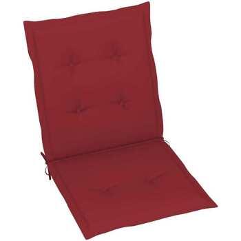 Casa Almofada de cadeira VidaXL Almofadão para cadeira de jardim 100 x 50 x 4 cm Vermelho