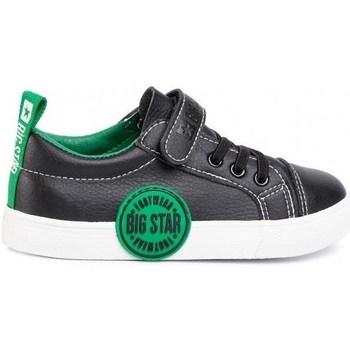 Sapatos Criança Sapatilhas Big Star FF374087 Preto