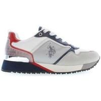 Sapatos Mulher Sapatilhas U.S Polo Assn. Frida Cinzento