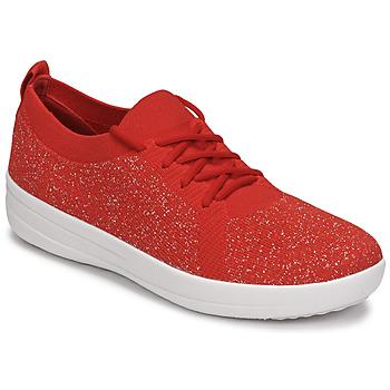 Sapatos Mulher Sapatilhas FitFlop F-SPORTY Vermelho