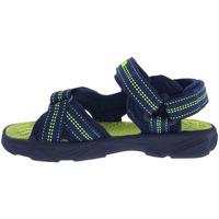 Sapatos Criança Sandálias desportivas Joma Chanclas  Wave Jr 2103 Navy Green Fluor Azul