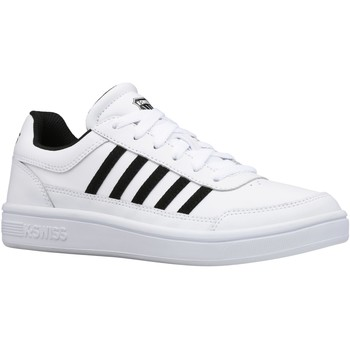 Sapatos Mulher Sapatilhas K-Swiss Court Chasseur Wit