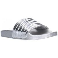 Sapatos Mulher chinelos Kelara K12020 Mujer Plata Argenté