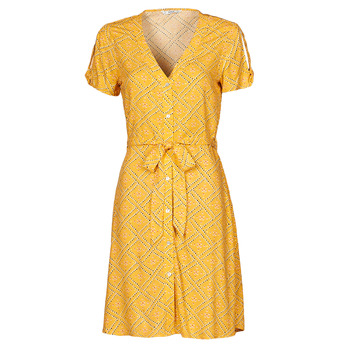 Textil Mulher Vestidos curtos Only ONLVIOLETTE Laranja