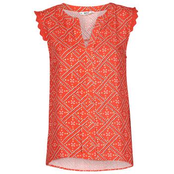 Textil Mulher Tops / Blusas Only ONLVIOLETTE Laranja