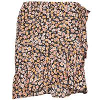 Textil Mulher Saias Only ONLFUCHSIA Multicolor