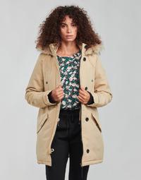 Textil Mulher Parkas Vero Moda VMEXCURSIONEXPEDITION Bege
