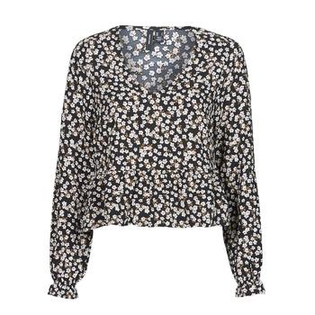 Textil Mulher Tops / Blusas Vero Moda VMSALINA Preto