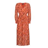 Textil Mulher Vestidos compridos Vero Moda VMFLOW Vermelho