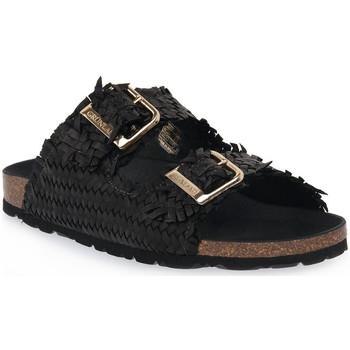Sapatos Mulher Chinelos Grunland NERO 40 SARA Nero
