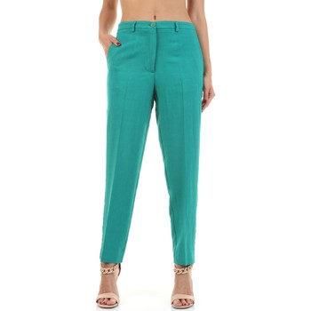 Textil Mulher Chinos Vicolo TH2063 Verde