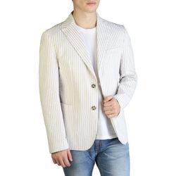 Textil Homem Casacos/Blazers Yes Zee - g501_db00 Castanho