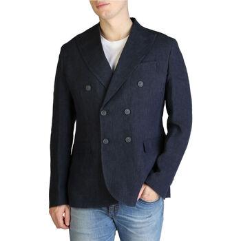 Textil Homem Casacos/Blazers Yes Zee - g500_da00 Azul