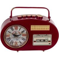 Casa Relógios Signes Grimalt Tabletop Relógio Transistor Rojo