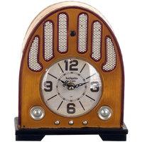 Casa Relógios Signes Grimalt Rádio Tabletop Relógio Beige