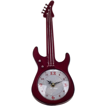 Casa Relógios Signes Grimalt Tabletop Guitarra Relógio Rojo