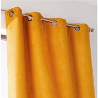 Casa Cortinados Linder SUEDINE LOURDE Amarelo