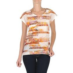 Textil Mulher T-Shirt mangas curtas TBS JINTEE Branco