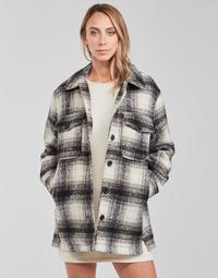 Textil Mulher Casacos/Blazers Only ONLALLISON Preto / Cru