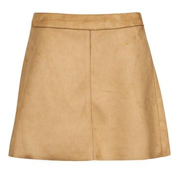 Textil Mulher Saias Only ONLLINEA Castanho