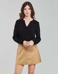 Textil Mulher Tops / Blusas Only ONLNEW EDDIE Preto