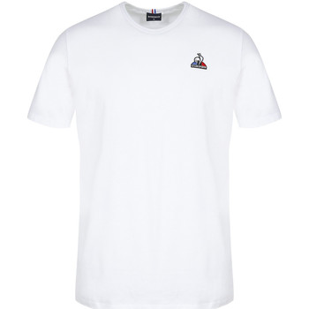 Textil Homem T-Shirt mangas curtas Le Coq Sportif Essentiels Tee SS N°3 Branco