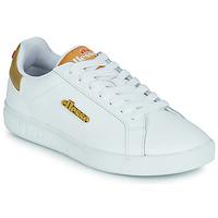 Sapatos Mulher Sapatilhas Ellesse CAMPO Branco / Ouro
